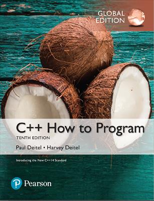 C++ How To Program 10th Edition - 2017