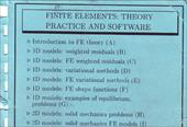 Finite Elements Course E.Hinton