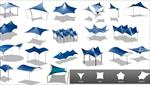تحقیق-سازه-های-چادری-و-کششی