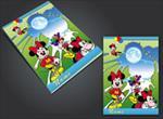 طرح-لایه-باز-جلد-دفتر؛-طرح-مینی-موس-(minnie-mouse)