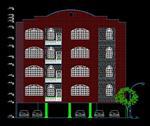 فایل-اتوکد-پلان-ساختمان-4-طبقه